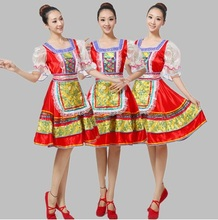 a3464b81c2a Ladies womens High quality Russia Traditional Russian national dance  costume stage performance clothing for women dance