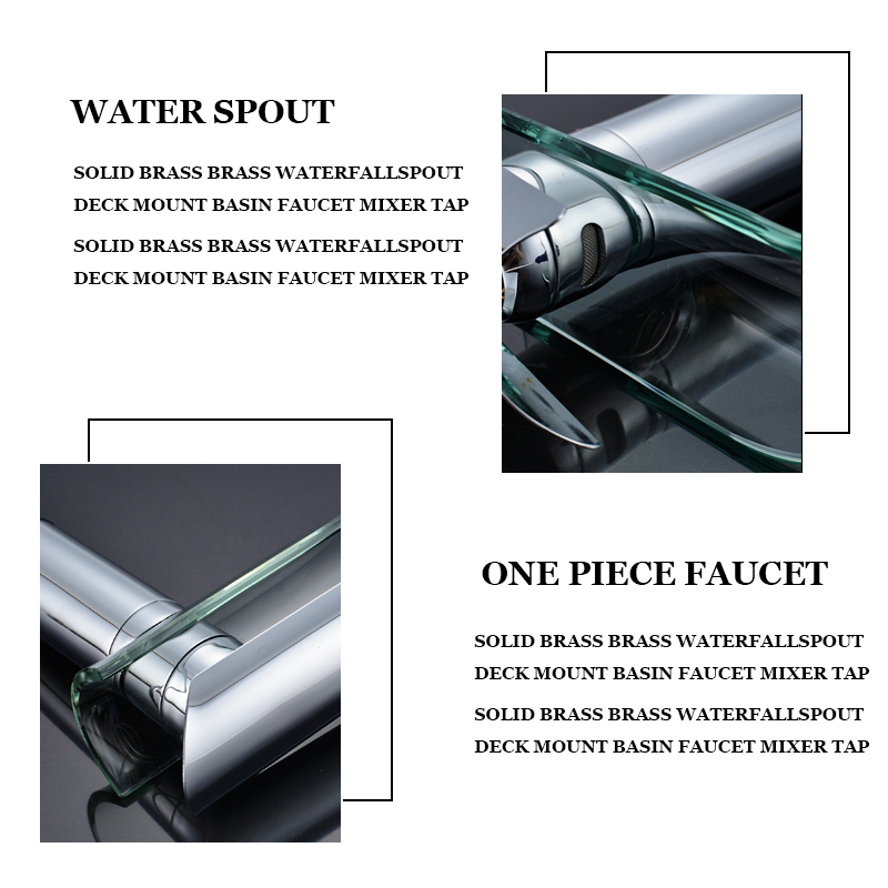 Waterfall-spout
