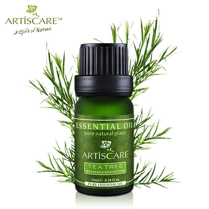 Artiscare 100% чайного дерева эфирные масла Уход за кожей лица Лечение Акне масло для удаления угрей Анти Шрам Пятна красоты лица