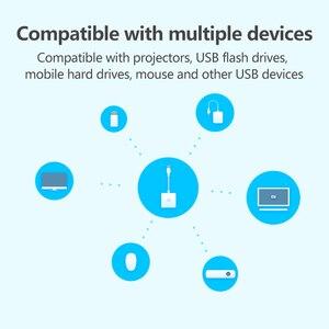 Image 3 - Orijinal Xiaomi USB C HDMI çok fonksiyonlu dönüştürücü adaptör 4K 1080P PD2.0 HD Video dönüştürücü Macbook için mi dizüstü bilgisayar