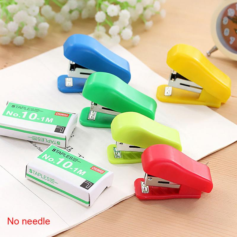 Office Staple Mini Small Portable Stapler For Machine Office Binding Supplies Student Gift