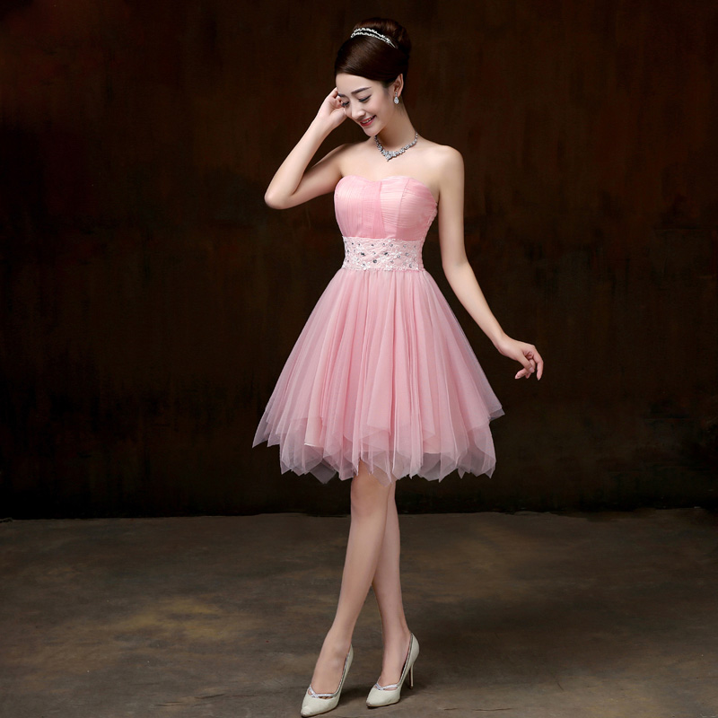 Excepcional Vestido Largo Dama De Champán Ideas Ornamento ...