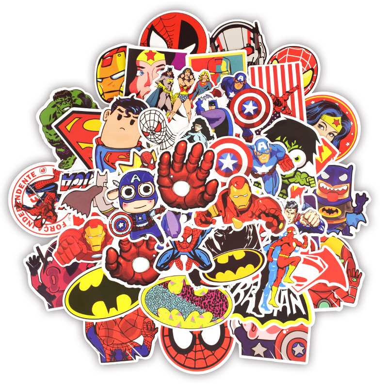 50pcs superhero <font><b>bike</b></font> <font><b>stickers</b></font> scooter wheel <font><b>stickers</b></font> <font><b>frame</b></font> <font><b>protection</b></font> guard wheel labels <font><b>bike</b></font> <font><b>sticker</b></font> bicycle decoration lamp image