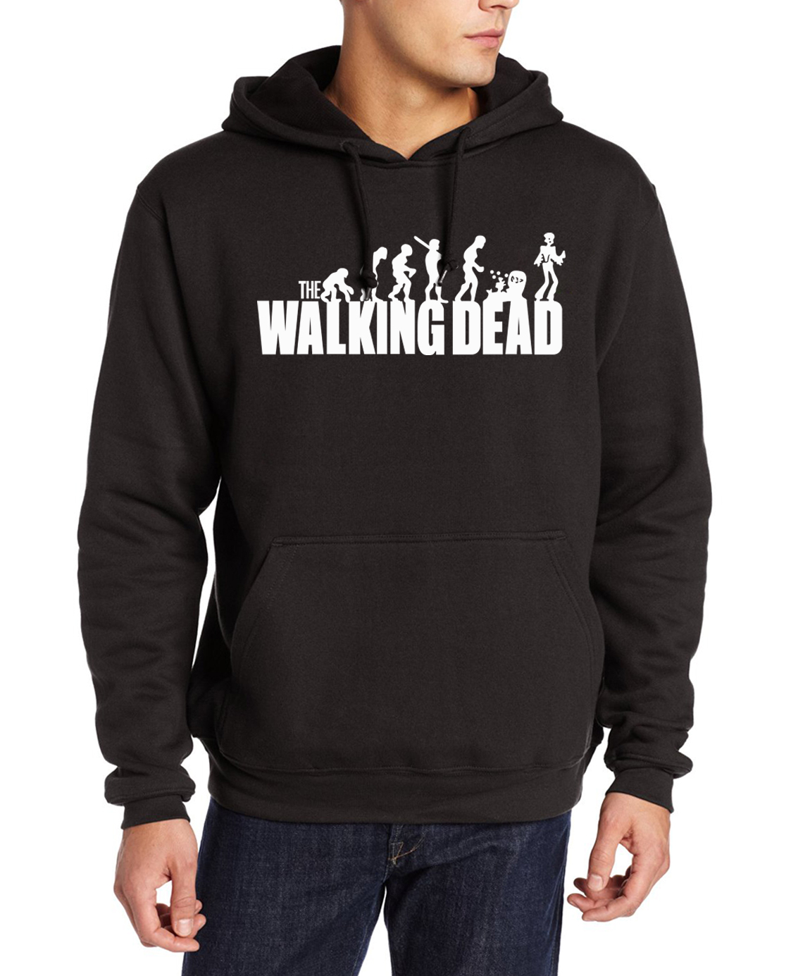 man's the walking dead hoodies men casual fleece hip-hop sweatshirt 2019 male harajuku pullovers fashion brand tracksuits hooded