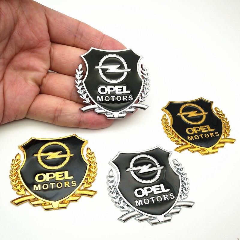 YONGXUN Car Styling hotcar metal Badge case For Opel astra opel h g j insignia mokka Gold car emblem Car Emblem Badge Decorati cid opel astra h