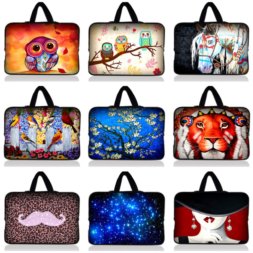 "Női notebook táska laptop táska Sleeve vízálló táska táska iPad Macbook Tablet PC 15 ""15.4"" 15.5 ""15.6"" NH15_HOT6"