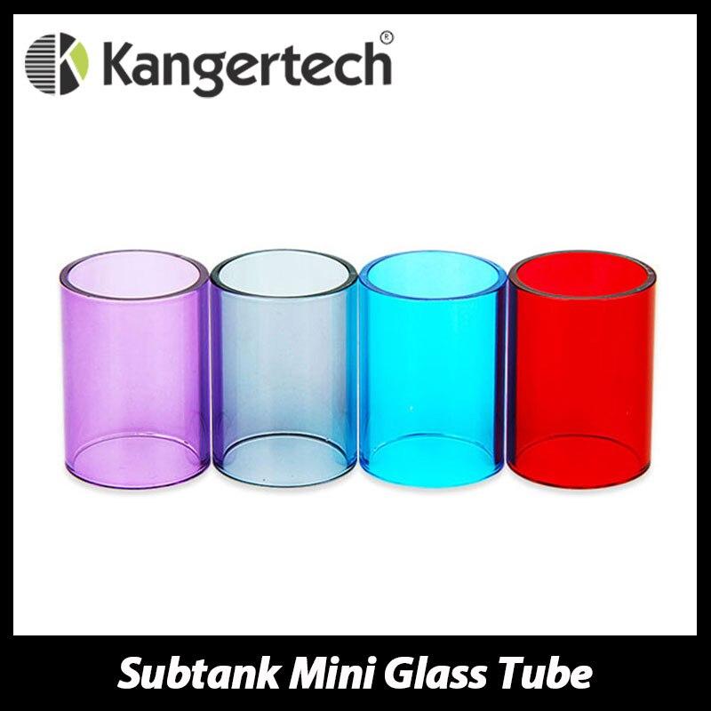 100% Originale KangerTech Serbatoio Ausiliario mini Atomizzatore di Vetro Pyrex Tubo Tubo di Vetro di Ricambio per Kanger Serbatoio Ausiliario Mini Serbatoio Cartomizer