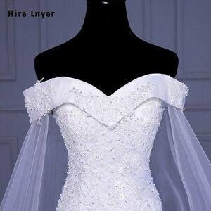 Image 5 - לשכור Lnyer חדש עיצוב Slim אלגנטי סין שמלות כלה Mariage אפליקציות ואגלי פאייטים בת ים חתונת שמלת Aliexpress התחברות