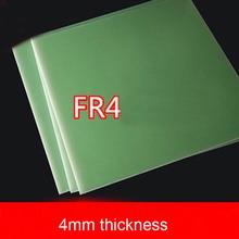 4 мм толщина FR4 лист стекловолокна водно-зеленая эпоксидная пластина 3240 FR-4 доска из эпоксидной смолы стекловолокно
