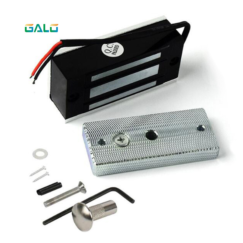12V Escape Room Electronic Drawer Lock Electric Magnetic Cabinet Door Locks 60kg 100lbs Holding Force Electromagnetic