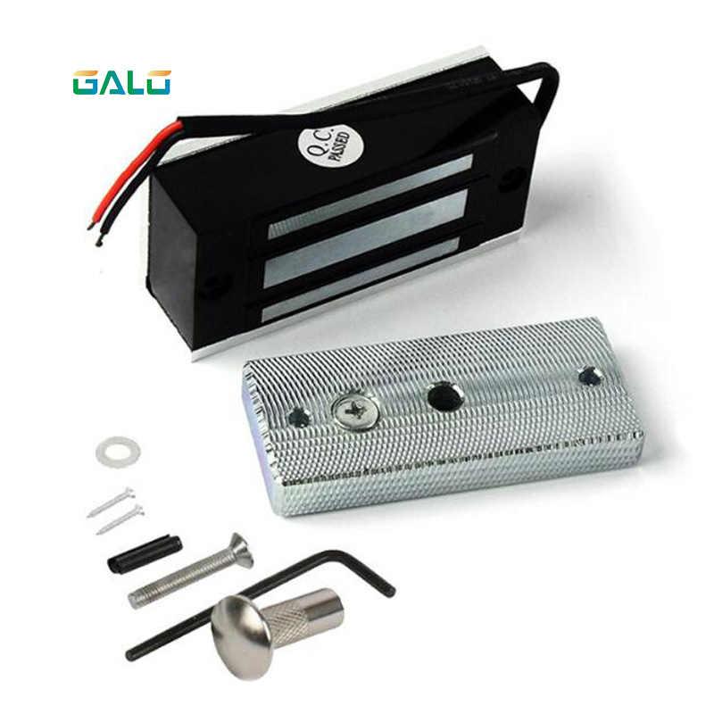 12V escape room электронный замок для ящика Электрический магнитный двери 60 кг 100 фунтов