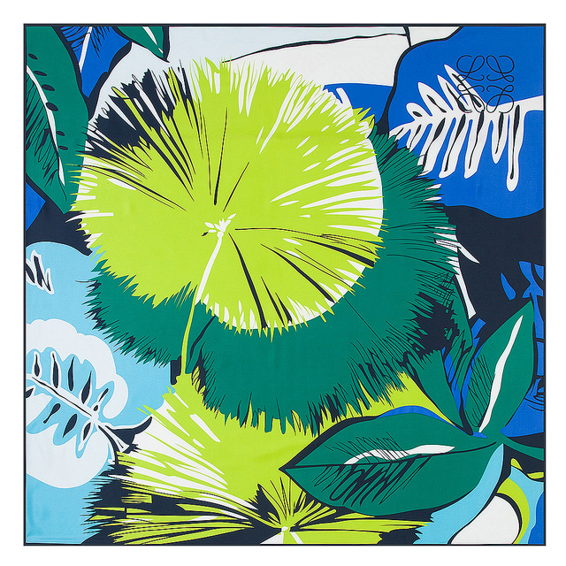 Мода Twill Шелковый Шарф Женщин 130*130 см Евро Дизайн Зеленые Растения листья Печати Квадратные Шарфы Высокое Качество Подарок большие Шелковые Платки