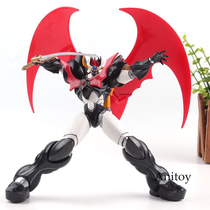 Anime Mazinger Z Cool Super Robot Toy Mazinkaiser Figure PVC T-O-P! Collection Figures Gift Toy for Boys 20cmAnime Mazinger Z Cool Super Robot Toy Mazinkaiser Figure PVC T-O-P! Collection Figures Gift Toy for Boys 20cm