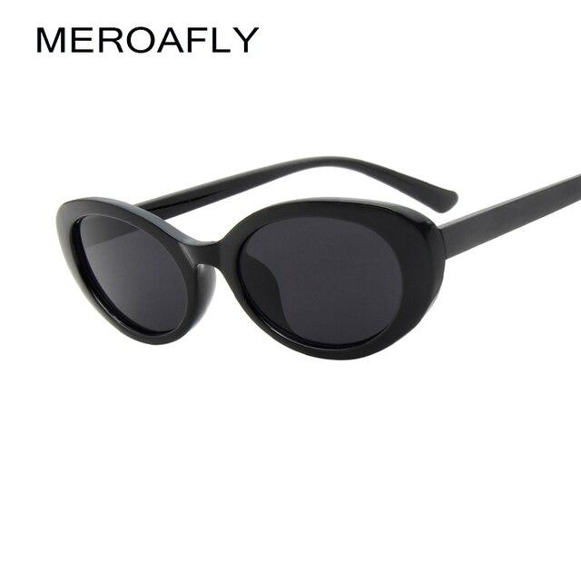 MEROAFLY New Oval Sunglasses Women Small Frame Summer Eyewear 2018 ...