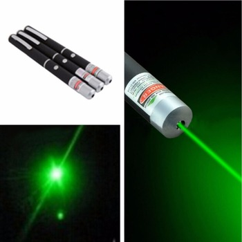 1 Pc Green-Red-Color 5mw 532nm Long-Range Laser Pen for Office and School and Teaching and Meeting and Outdoor
