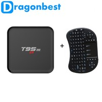 T95M 1G 8G Android 6.0 TV Box Amlogic S905X Quad Core 4K WiFi 16.0 Media Player