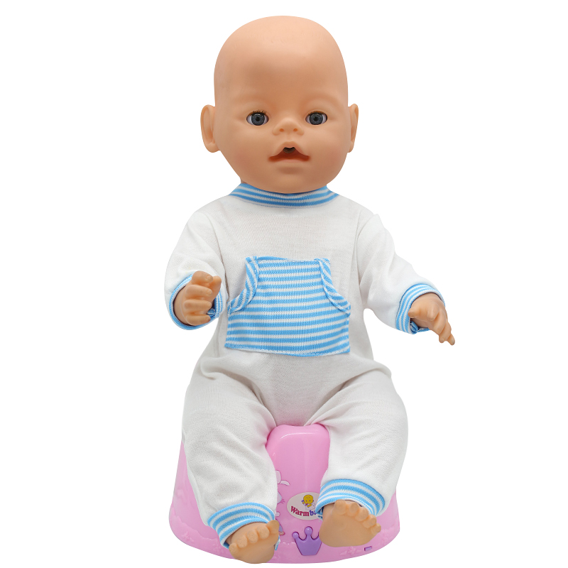 Baby-Born-Doll-Clothes-Fit-43cm-Zapf-Baby-Born-Doll-Cute-Jackets-and-Jumpers-Rompers-Doll-Clothes-Children-Birthday-Gifts-T-6-4