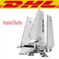 2017 Nueva LEPIN 05034 2503 Unids Star Wars Imperial Shuttle Modelo Kit de Construcción de Bloques de Ladrillos Compatibles Juguete Regalo de Los Niños Con 10212