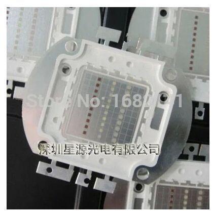 10W 20W 30W 50W 90W High Power LED Chip RGB IC SMD, Floodlight lamp bead, Color: White/Warm white /red / green /blue/yellow/ RGB