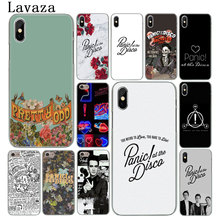 Lavaza Panic! At The Disco Hard Phone Case for iPhone XR X XS 11 Pro Max 10 7 8 6 6S 5 5S SE 4 4S Cover
