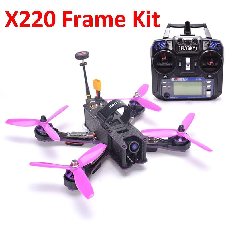 X220 220mm Quadcopter Frame F3 Acro Flight Control Littlebee 30A BLHeli S ESC 2205 Pagoda antenna