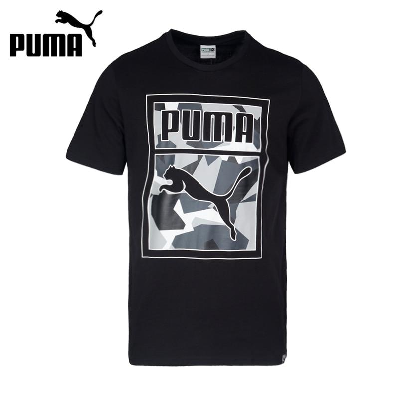 Original New Arrival 2017 PUMA Archive Graphic Logo Tee Mens T-shirts  short sleeve Sportswear