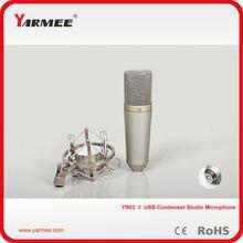 YARMEE YR03 Condensador Mic Microfone do Estúdio de Gravação de Som do Microfone Para KTV ou DJ Profissional