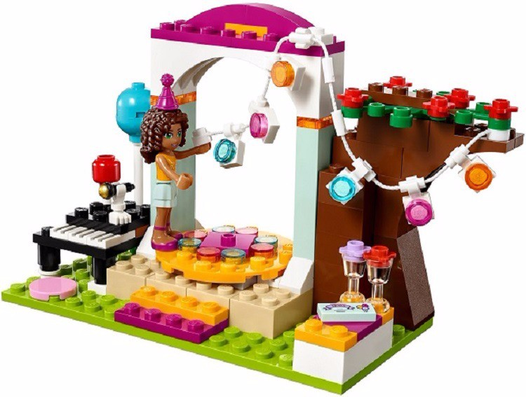 Bela 10492 Blocs de Construction de Fête D'anniversaire Andrea - Concepteurs et jouets de construction - Photo 2
