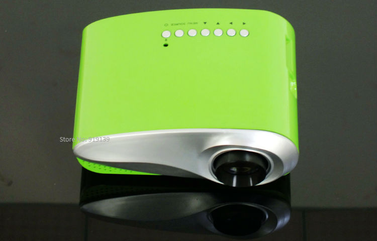 mini projector green pic 3