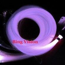 300 шт. X 2 м 0,75 мм pmma RGB светодиодный волоконно-оптический мерцающий Звездный потолочный комплект для волоконно-оптического s освещения+ затемнения/вспышка/Стробоскоп/выцветание l