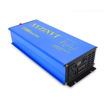 3000W Peak 1500W Off Grid Pure Sine Wave Power Inverter 12V to 220V Solar Inverter Battery 12V/24V/48V DC to 120V/220V/240V AC