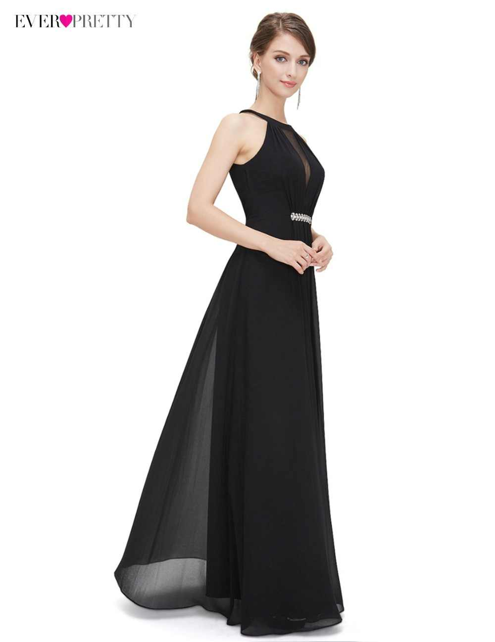 ...  Clearance Sale Ever Pretty Evening Party Dresses 2018 Women Sleeveless  Sleeveless Floor Length Halter ... 66c99adac0cb