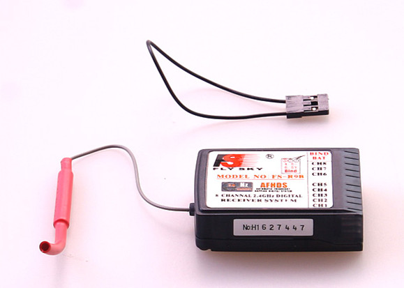 10PCS lot FlySky FS R9B 2 4G 8CH RC Digital Receiver for FS TH9X FS TH9X