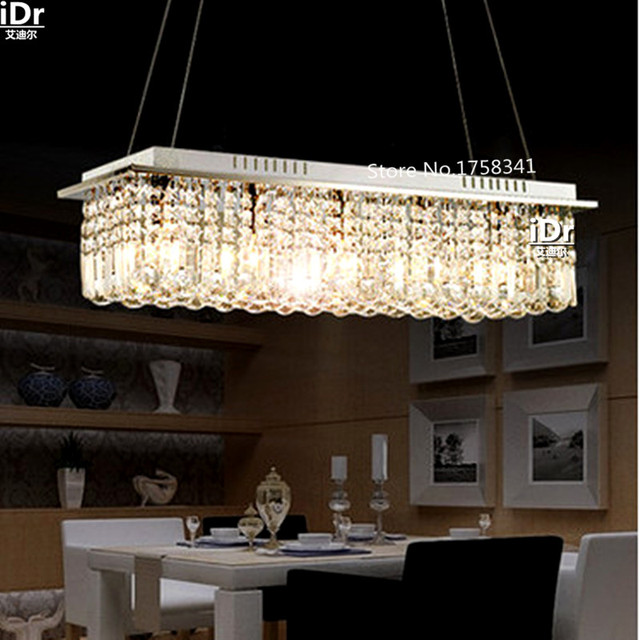 Modern Luxury Restaurant Romantic Bedroom High Quality Chandelier Pendant Lamp Crystal Lighting Upscale Atmosphere