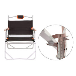 חוף כיסא קמפינג ריהוט אל 3kg 56x47x66cm 200kg קפה חיצוני דיג כיסא שרפרף אוקספורד כיסא
