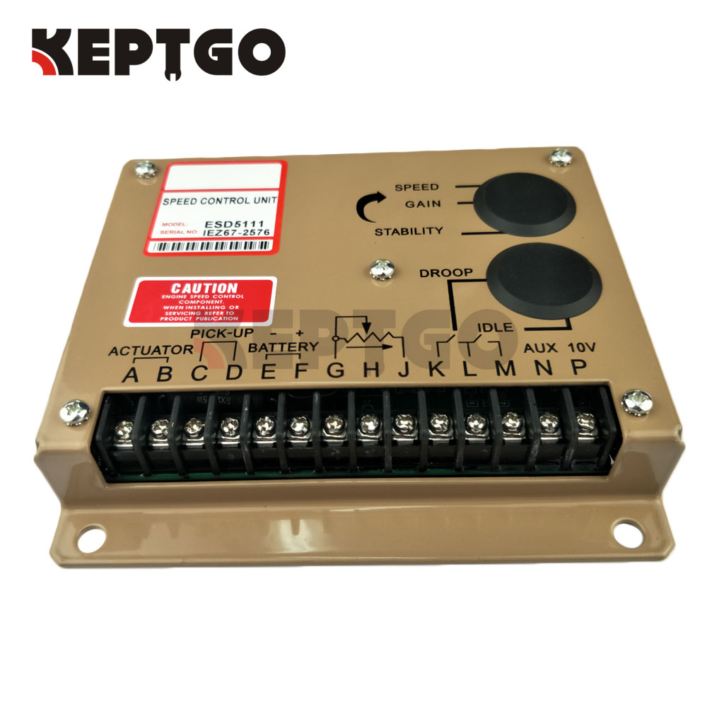 New Engine Governor Speed Controller ESD5111