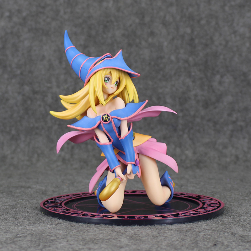 7 Yu Gi Oh Yu-Gi-Oh! Dark Magician Girl Boxed 18cm PVC Action Figure Collection Model Doll Toy Gift Free Shipping
