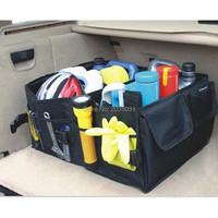 Car trunk storage bag folding truck storage box FOR fiat 500 miata ford mustang honda civic 2016 honda dio kia sorento bmw e60