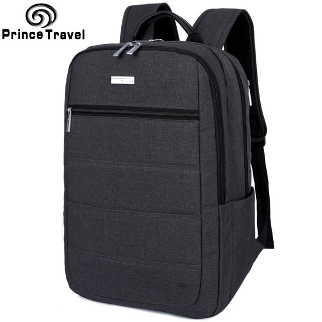 Prince Travel School Bags Backpack For High Students Oxford Business Men Escolar Mochila