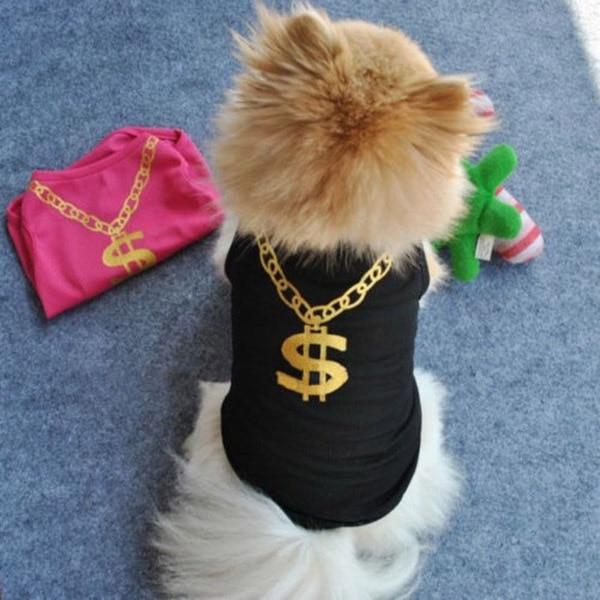 Pet Dog Summer Breathable T-shirt Vest Puppy Bikini Flower Print Clothes Large
