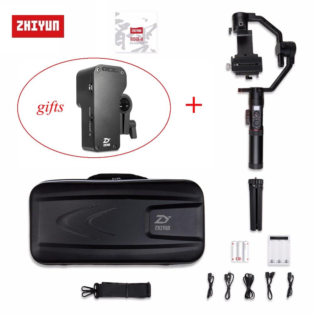 Zhiyun Grue 2 Crane2 3-Axes De Poche Cardan Stabilisateur pour Canon Nikon Sony Panasonic toutes les Caméras w/Grue 2 Servo Follow Focus