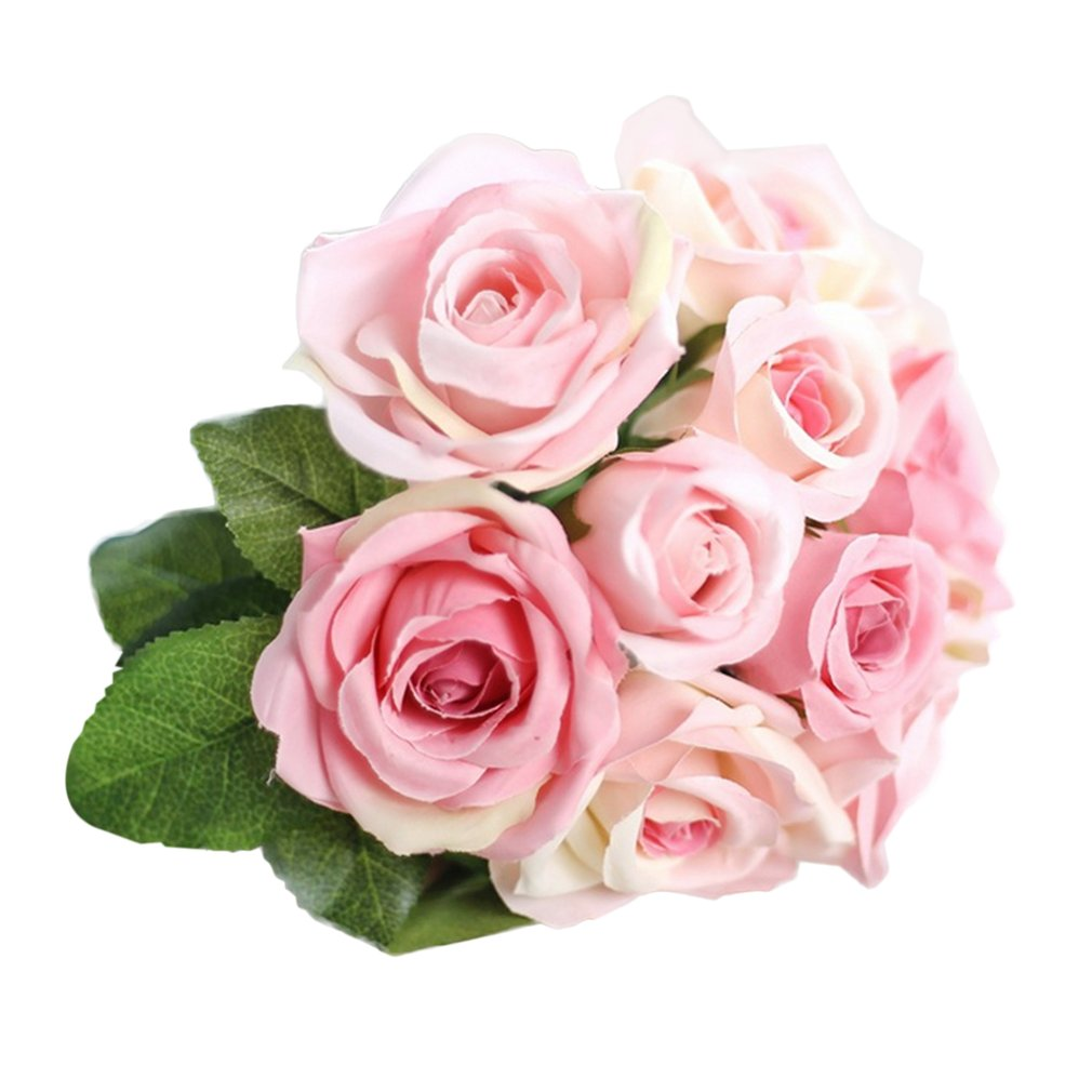 2018 new pretty charming lovely cute artificial rose flower 2018 new pretty charming lovely cute artificial rose flower beautiful wedding bridal bouquet home decorative rose flower bouquet in artificial dried izmirmasajfo