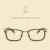 LIYUE 2017 homens Da Moda Estilo de vidros ópticos óculos limpar óculos de Computador do vintage óculos óculos óculos de Prescrição Quadro