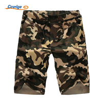 Covrlge Board Shorts New Fashion Camo Beachshorts Mens Hawaiian Shorts Cotton Plus Size Print Short Pants