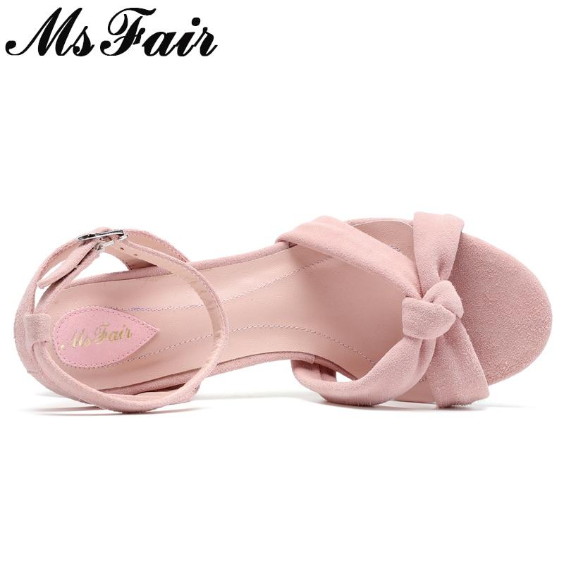 Noir rose Hauts Boucle À Sandalias Bout En Métal Haute Ronde Sandales Femme Msfair Mujer Talons Chaussures Ouvert Femmes Mode w8TqEEaUx