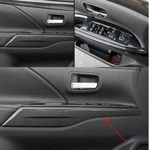 Крышка для автомобилей Mitsubishi Outlander 2013 2014 2015 2016 2017 2018 АБС-пластик интерьера двери подлокотник декоративные бар отделкой 4 шт.