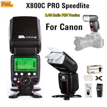 Pixel X800C PRO ETTL HSS 1/8000S Speedlite Professinal High Speed Sync Flash Speedlight For Canon Camera Vs YONGNUO YN600EX-RT