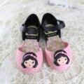 14-16.5 cm niñas zapatos de verano sandalias zuecos niños transpirable de color de dibujos animados de Corea chica soft sole punta cerrada