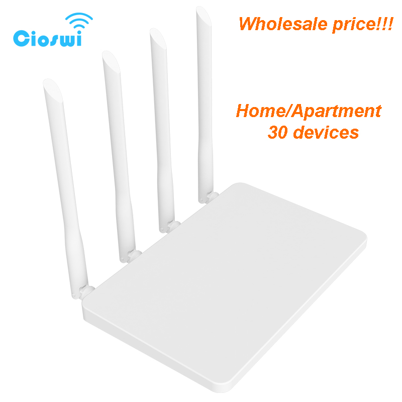 300mbps Long range wifi router for home/apartment mobile router wi fi wireless access point 2.4ghz MTK7628 chip strong signal-in Wireless Routers from Computer & Office