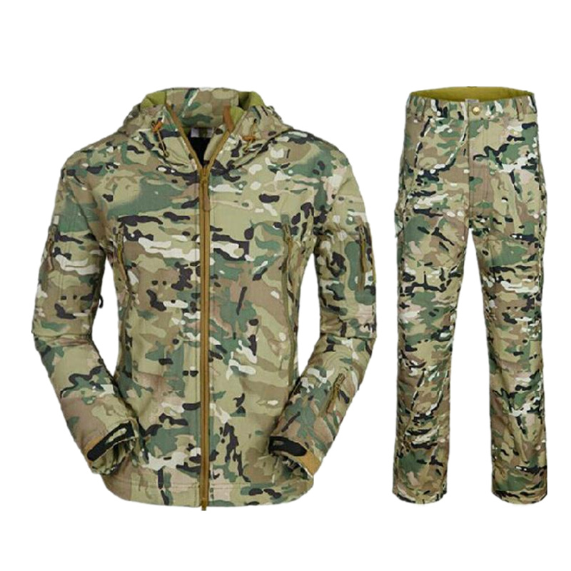 TAD jacket men Waterproof jacket and pants Zipper Windbreaker (Multicam TAN GRAY BK ACU OD) winter jacket tad jacket men waterproof zipper windbreaker multicam tan gray bk acu od cl 05 winter jacket